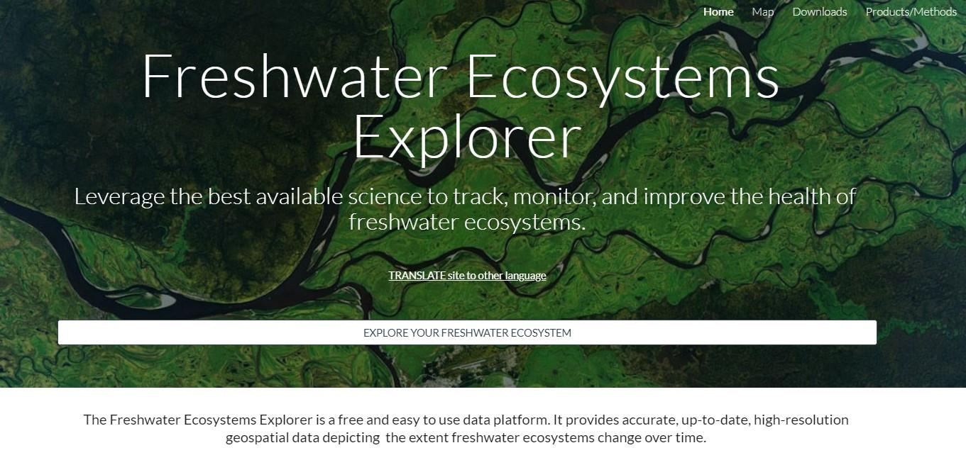 Freshwater Ecosystem Explorer